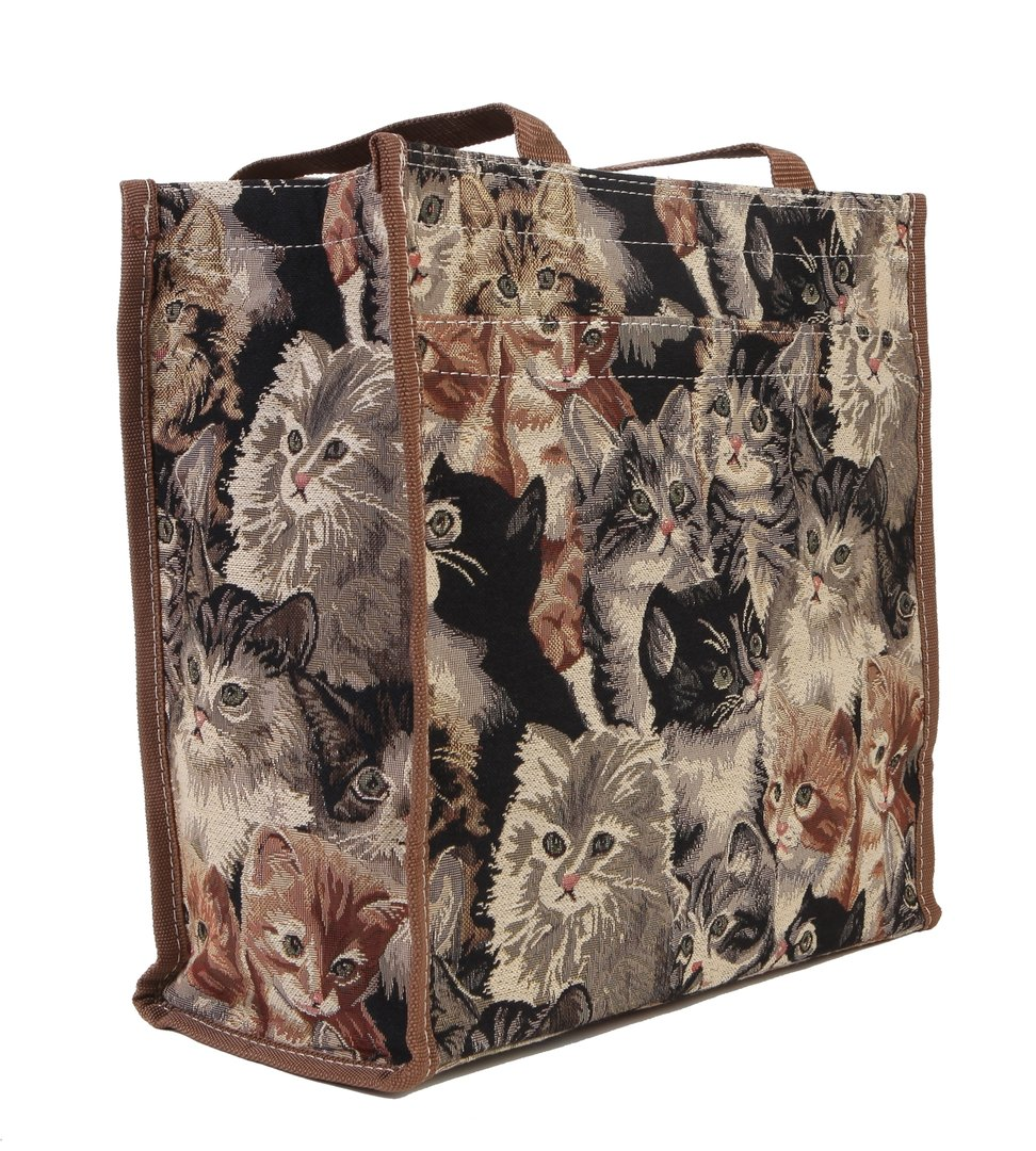 Buy Tapestry Quot Cats Amp Kittens Quot Shopper Bag Tote Bag Signare