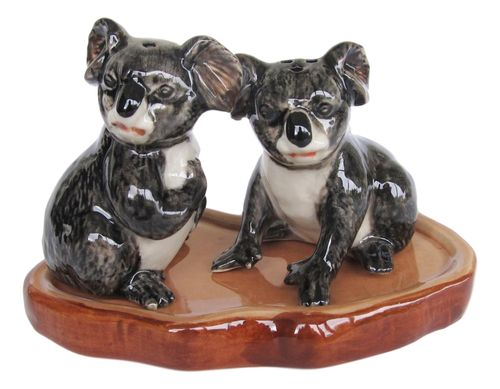 Australian Native Koala Salt & Peppers Shakers - Ceramic