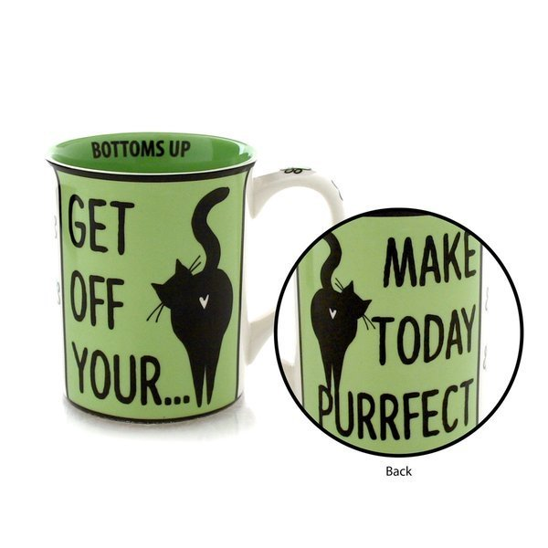 Buy Our Name Is Mud Get Off Your Large Ceramic Cat Mug