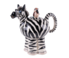 Zebra Collectable Teapot  Ceramic