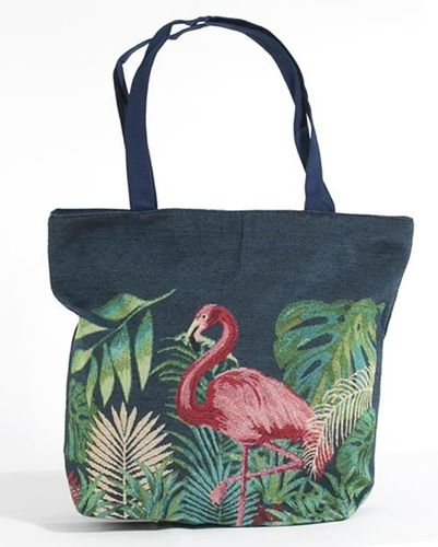 Flamingo Bird Tote or Shoulder Bag