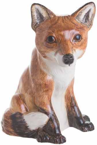 John Beswick Fox Money Box or Figurine