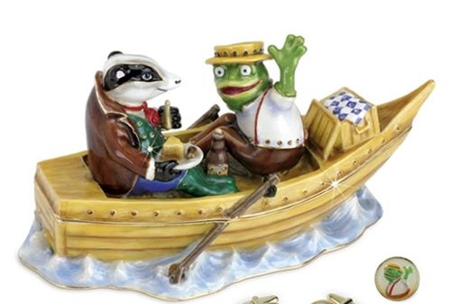 Wind in the Willows Limited Edition Trinket Box or Figurine