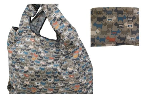 Dog Animal Pattern Foldable Reusable Shopping Bag